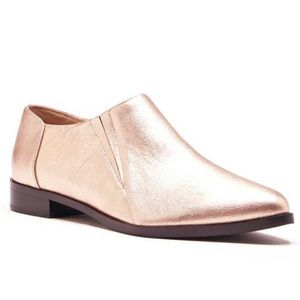 JOE'S JEANS Rose Gold Metallic Dahlia Loafer 8.5